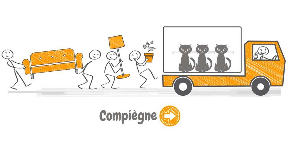 Déménagement à Compiègne