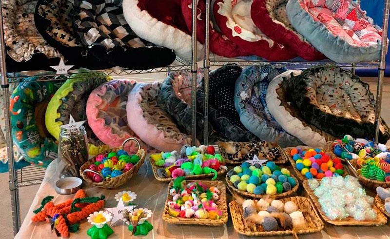 L'atelier enchanté, couffins et accessoires pour chats