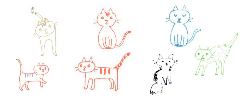 Mes dessins de chats