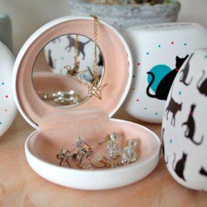 Boite à bijoux chats