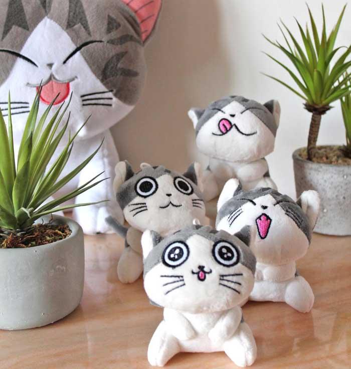 Peluches chat kawaii sur Kdo Chats