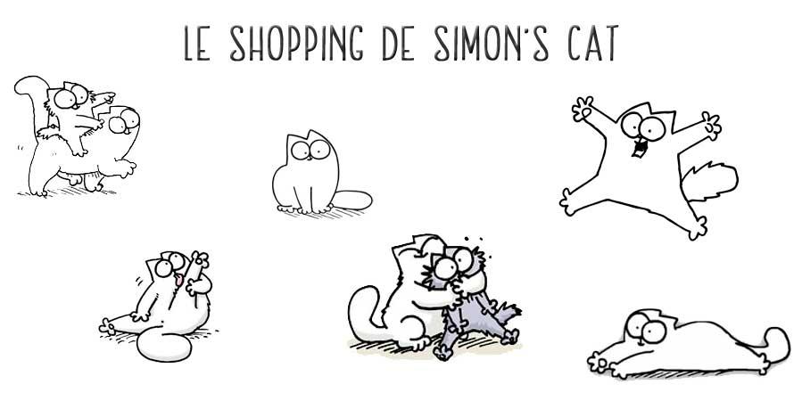 Cadeau chat Simon's Cat sur Kdo chats