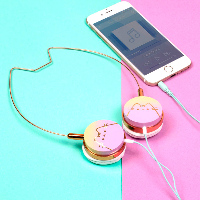 Idée cadeau : casque audio Pusheen