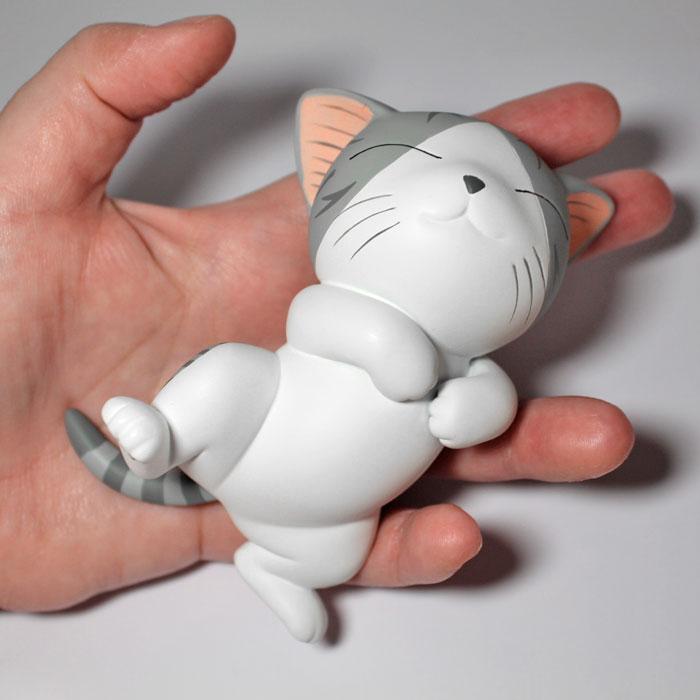 Figurine Chi une vie de chat, grand modèle de 11 cm, en résine
